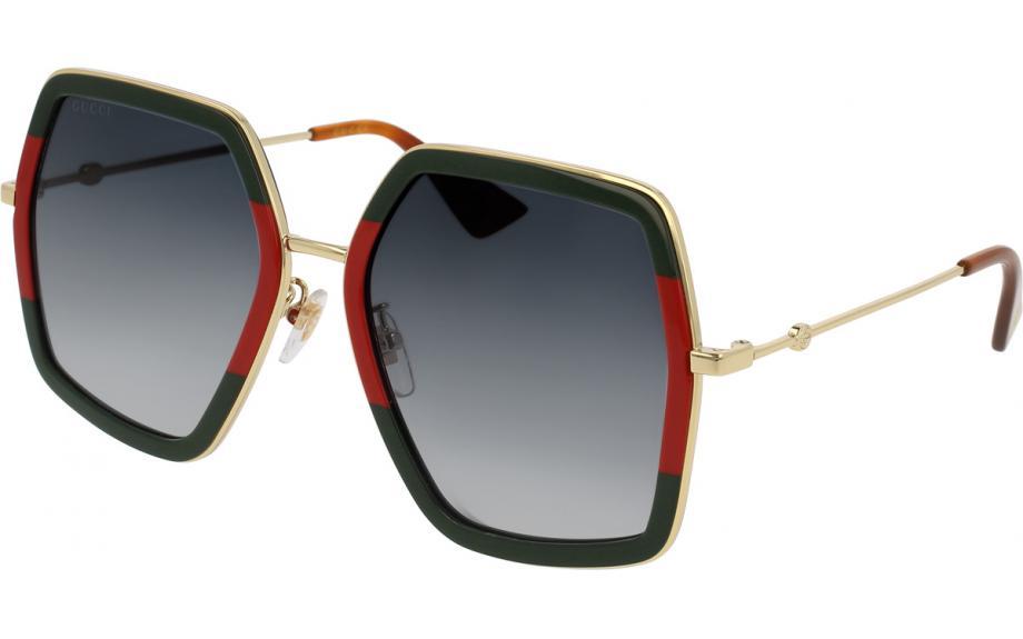 04d331a0bb0c2f Gucci GG0106S 007 56 okulary przeciwsłoneczne - Bezpłatna dostawa   Stacja  Shade