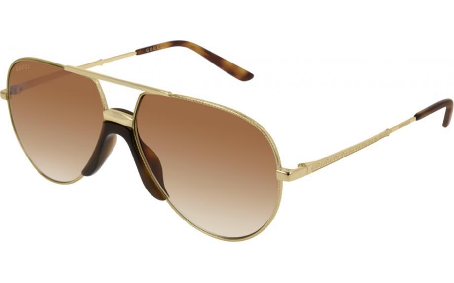 c91605a8eb043d Gucci GG0432S 002 60 Okulary przeciwsłoneczne - Bezpłatna wysyłka Shade  Station